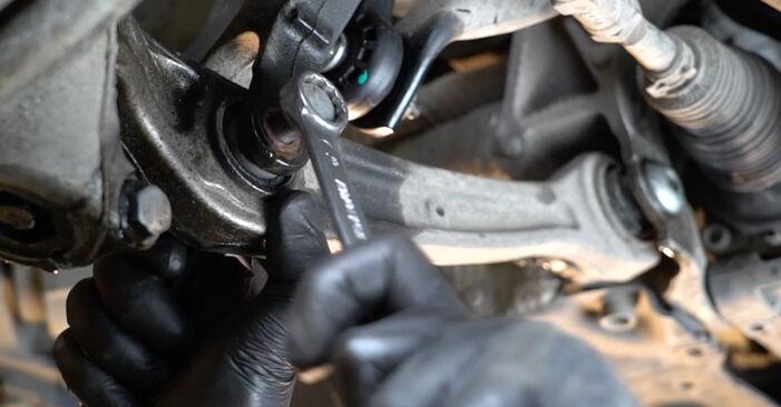 AUDI A4 2014 Roka priročnik za zamenjavo s koraki