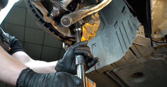 Austauschen Anleitung Querlenker am BMW E60 2001 530d 3.0 selbst