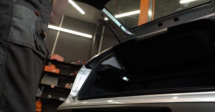Wie Heckklappendämpfer Fiat Punto 199 1.3 D Multijet 2008 tauschen - Kostenlose PDF- und Videoanleitungen
