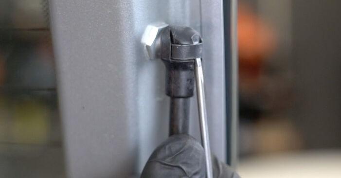 Come sostituire FIAT GRANDE PUNTO (199) 1.3 D Multijet 2009 Pistoni Portellone - manuali passo passo e video guide