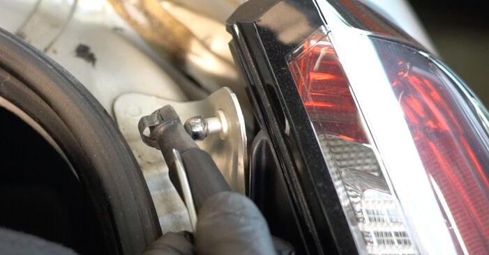 Modifica Pistoni Portellone su FIAT GRANDE PUNTO (199) 1.4 16V 2011 da solo