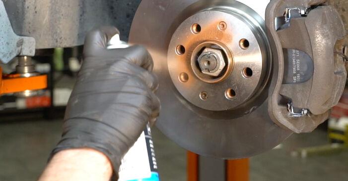 Wie FIAT GRANDE PUNTO 1.4 T-Jet 2012 Spurstangenkopf ausbauen - Einfach zu verstehende Anleitungen online