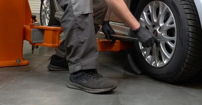 Fiat Punto 199 1.4 2010 Dischi Freno sostituzione: manuali dell'autofficina