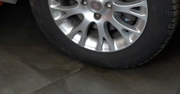 How to remove FIAT GRANDE PUNTO 1.4 T-Jet 2012 Brake Discs - online easy-to-follow instructions