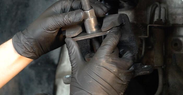 Zweckdienliche Tipps zum Austausch von Bremsbeläge beim FIAT GRANDE PUNTO (199) 1.2 2008