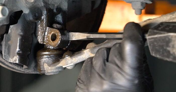 GRANDE PUNTO (199) 1.4 T-Jet 2019 Braccio Oscillante manuale di officina di ricambio fai da te