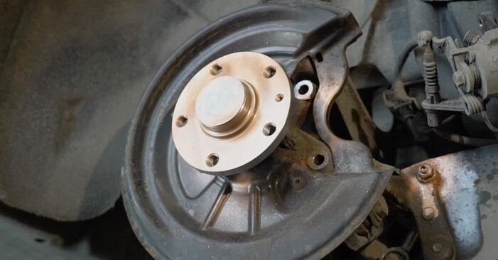 Octavia 1z5 1.6 TDI 2006 Brake Discs replacement: free workshop manuals