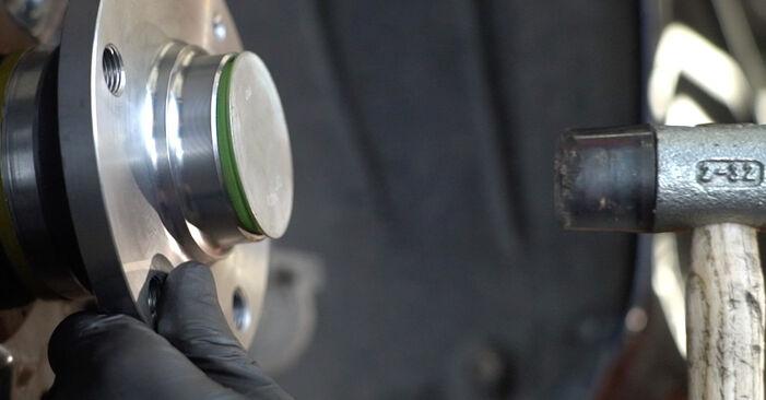 SKODA OCTAVIA 2.0 RS Radlager ausbauen: Anweisungen und Video-Tutorials online
