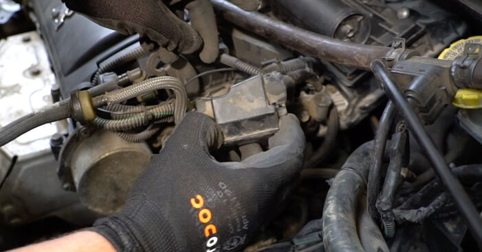 Tauschen Sie Thermostat beim PEUGEOT 207 (WA_, WC_) 2006 1.4 HDi selber aus
