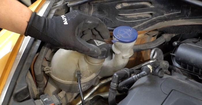 PEUGEOT 207 (WA_, WC_) 2008 Thermostat - Anleitung zum selber Austauschen
