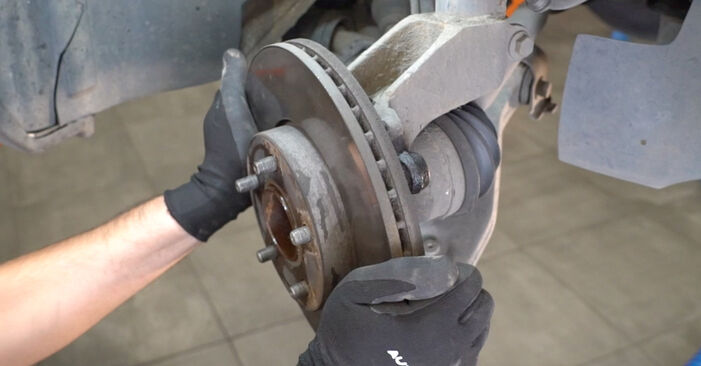 How to remove FORD FOCUS 1.6 Ti 2007 Wheel Bearing - online easy-to-follow instructions