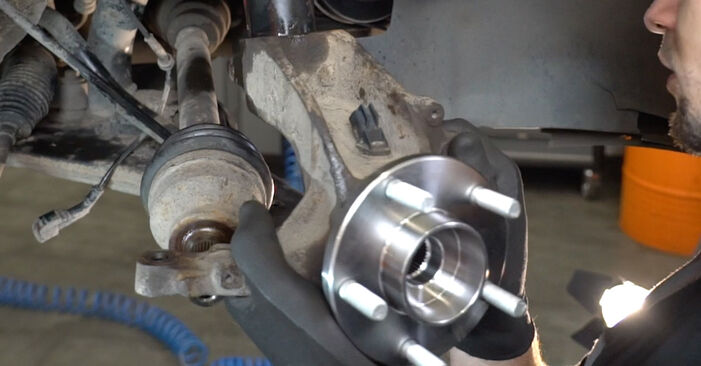 FORD FOCUS 1.6 TDCi Wheel Bearing replacement: online guides and video tutorials