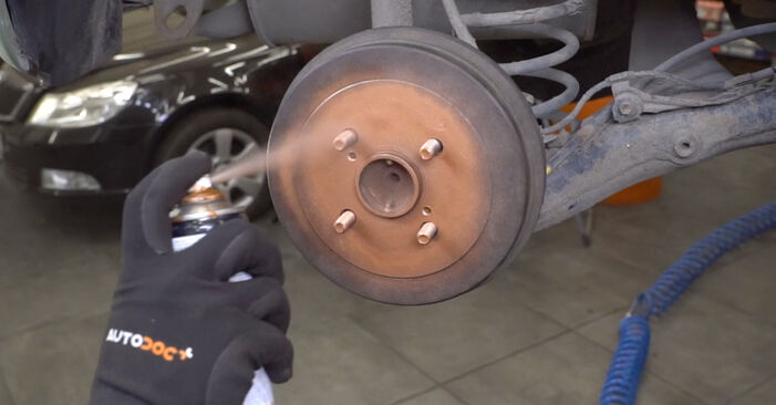 Bremsbacken beim TOYOTA YARIS 1.4 D-4D (NLP10_) 1999 selber erneuern - DIY-Manual