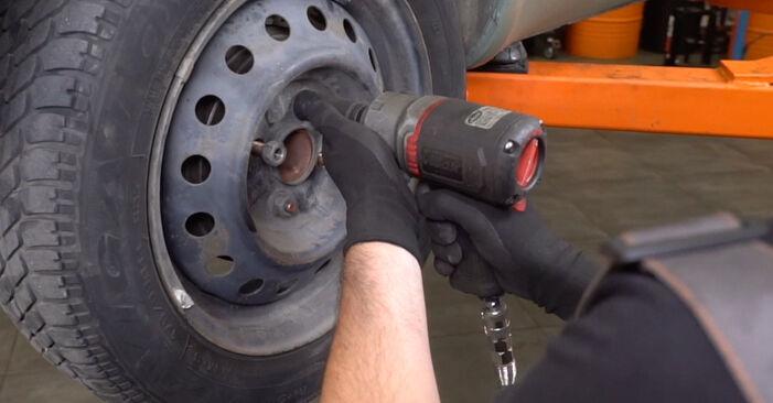 TOYOTA YARIS 1.3 (NCP10_, SCP12_) Bremsbacken ausbauen: Anweisungen und Video-Tutorials online