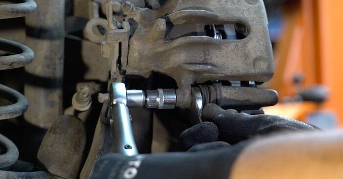 FOCUS (DAW, DBW) 1.8 16V 1999 1.8 Turbo DI / TDDi Bremsscheiben - Handbuch zum Wechsel und der Reparatur eigenständig