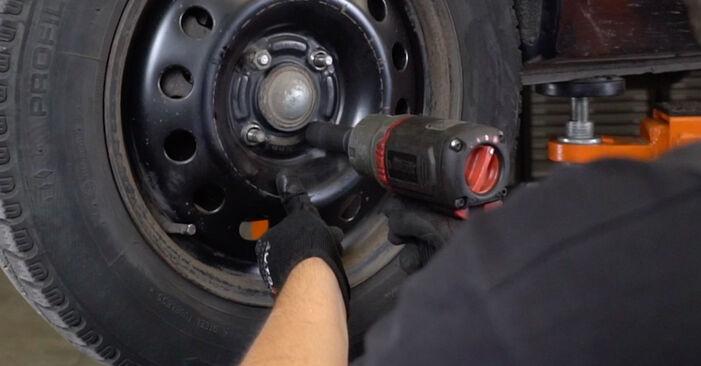 Wechseln Bremsscheiben am FORD FOCUS (DAW, DBW) 1.4 16V 2001 selber