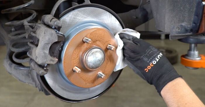 How to replace Brake Pads on FORD FOCUS (DAW, DBW) 2003: download PDF manuals and video instructions