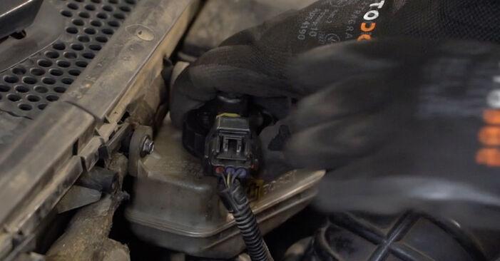 Austauschen Anleitung Bremsbeläge am Ford Focus Mk1 1998 1.6 16V selbst