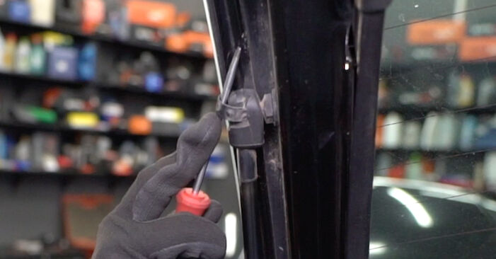 FORD FOCUS 1.6 16V Flexifuel Tailgate Struts replacement: online guides and video tutorials