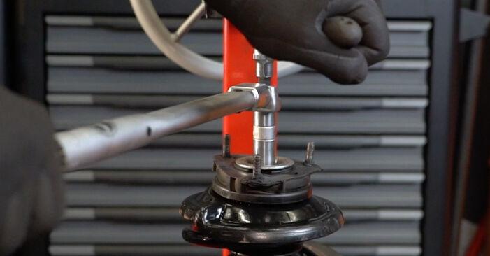 Stufenweiser Leitfaden zum Teilewechsel in Eigenregie von Ford Focus DAW 2001 1.8 16V Stoßdämpfer