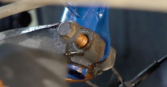 Wie lange benötigt das Auswechseln der Teile: Stoßdämpfer beim Ford Focus DAW 2006 - Detailliertes PDF-Tutorial