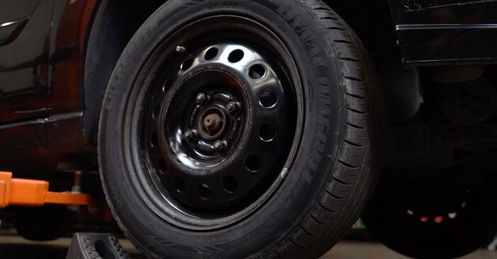 Ford Focus DAW 1.8 Turbo DI / TDDi 2000 Dischi Freno sostituzione: manuali dell'autofficina