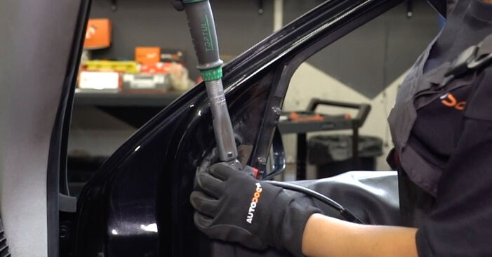 FORD FOCUS 1.6 16V Flexifuel Wing Mirror replacement: online guides and video tutorials