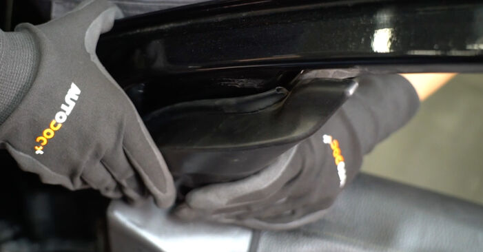 Step-by-step recommendations for DIY replacement Ford Focus DAW 2001 1.8 16V Wing Mirror
