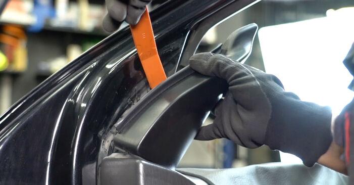 Substituição de Ford Focus DAW 1.8 Turbo DI / TDDi 2000 Espelho Retrovisor: manuais gratuitos de oficina