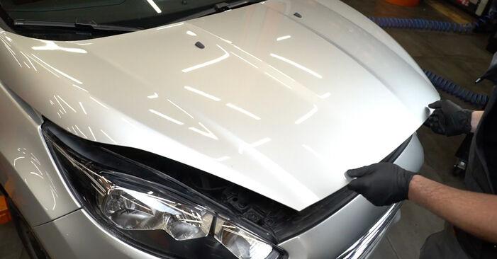Csináld magad FORD Fiesta Mk6 Hatchback (JA8, JR8) 1.6 TDCi 2008 Hosszbordás szíj csere - online útmutató