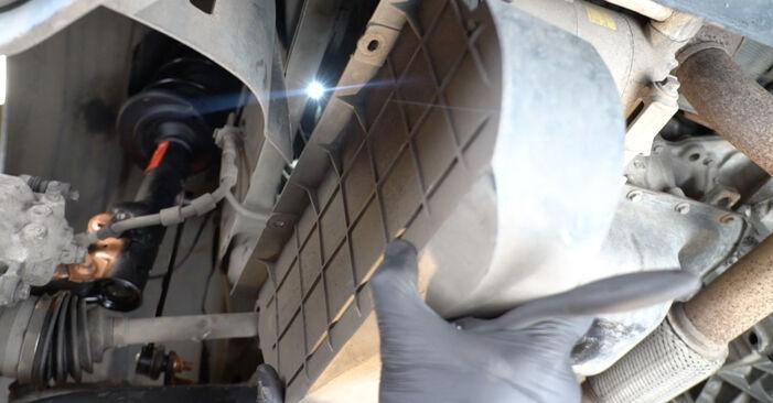 FORD FIESTA 1.4 LPG 2012 Hosszbordás szíj eltávolítás - online könnyen követhető utasítások