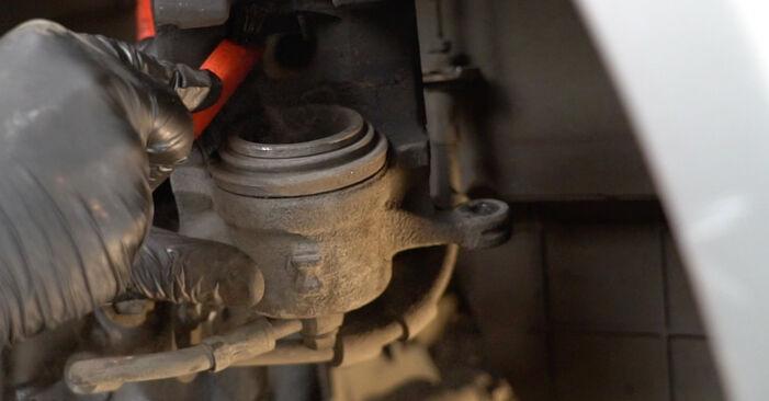Come rimuovere FORD FIESTA 1.4 LPG 2012 Dischi Freno - istruzioni online facili da seguire