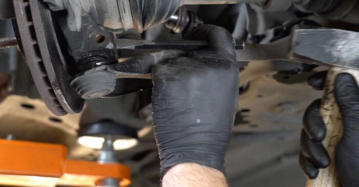 Fiesta Mk6 Hatchback (JA8, JR8) 1.4 LPG 2019 Control Arm DIY replacement workshop manual
