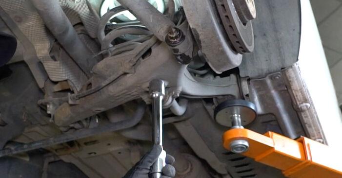 Hvordan skifte Støtdemper på VW Transporter V Van (7HA, 7HH, 7EA, 7EH) 2008: Last ned PDF- og videoveiledninger