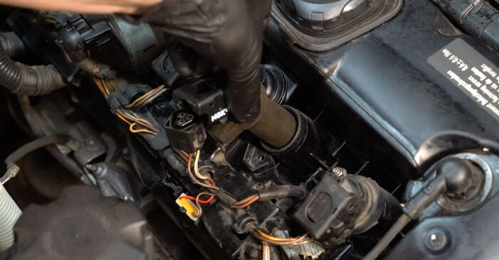 How to change Ignition Coil on BMW E82 2001 - free PDF and video manuals