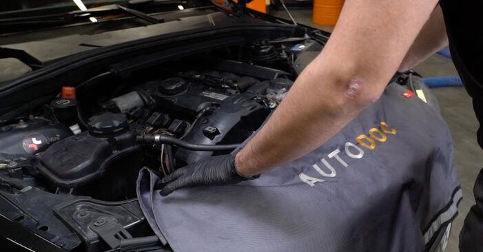 BMW 1 Coupe (E82) 120d 2.0 2002 Toronycsapágy csere – minden lépést tartalmazó leírások és videó-útmutatók