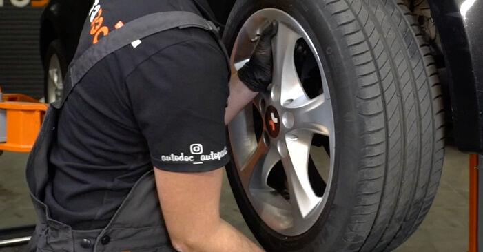 Mennyi ideig tart a csere: Toronycsapágy BMW E82 2009 - tájékoztató PDF útmutató