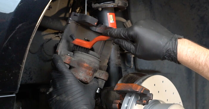 How to change Brake Pads on BMW E82 2006 - free PDF and video manuals