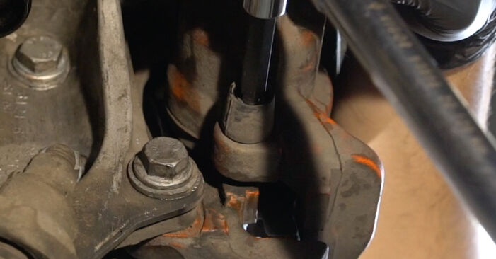 How to remove BMW 1 SERIES 125i 3.0 2010 Brake Pads - online easy-to-follow instructions