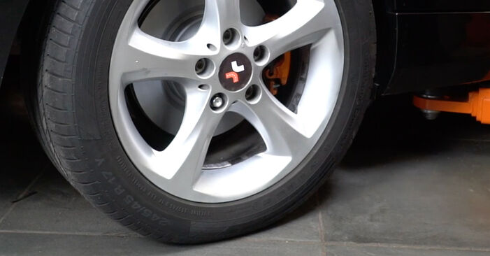 DIY replacement of Brake Pads on BMW 1 Coupe (E82) 135i 3.0 2008 is not an issue anymore with our step-by-step tutorial