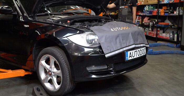 BMW E82 123d 2.0 2005 Radlager wechseln: Gratis Reparaturanleitungen