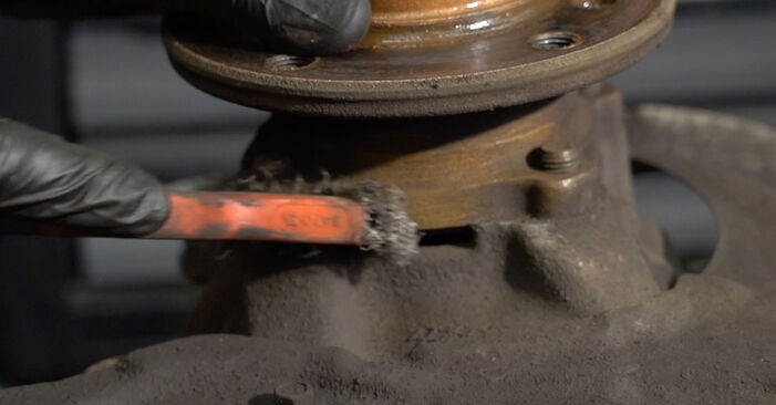 BMW E82 123d 2.0 2005 Wheel Bearing replacement: free workshop manuals