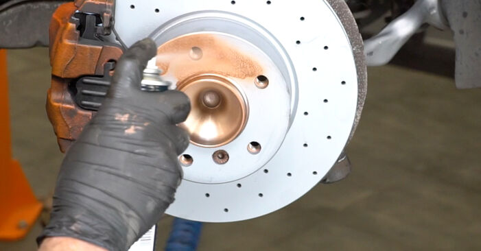 How hard is it to do yourself: Wheel Bearing replacement on BMW E82 120i 2.0 2009 - download illustrated guide
