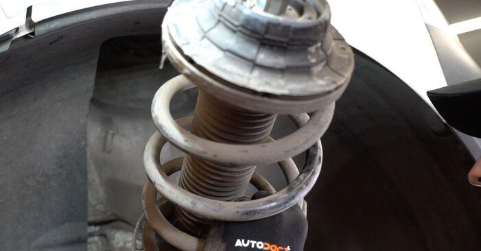 Stoßdämpfer VW T5 Kasten 1.9 TDI 2005 wechseln: Kostenlose Reparaturhandbücher
