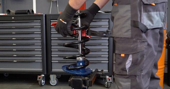 Schritt-für-Schritt-Anleitung zum selbstständigen Wechsel von VW T5 Kasten 2003 2.5 TDI Stoßdämpfer