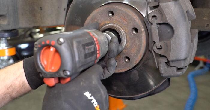 Stoßdämpfer beim VW TRANSPORTER 2.0 TDI 2010 selber erneuern - DIY-Manual