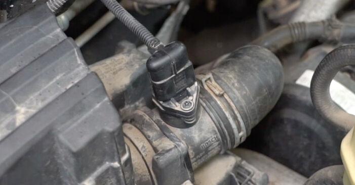 VW T5 Van 2.5 TDI 4motion 2005 Luchtfilter remplaceren: kosteloze garagehandleidingen