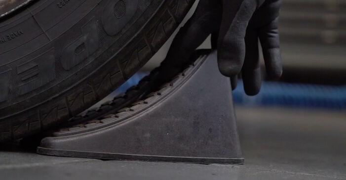 Bremsscheiben am VW Transporter V Kastenwagen (7HA, 7HH, 7EA, 7EH) 2.5 TDI 4motion 2008 wechseln – Laden Sie sich PDF-Handbücher und Videoanleitungen herunter