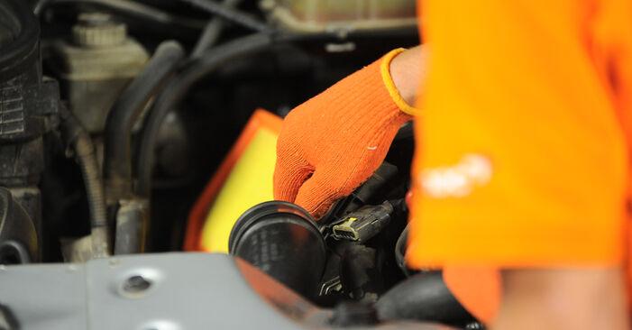Luftfilter Ihres Mercedes W163 ML 350 3.7 (163.157) 1998 selbst Wechsel - Gratis Tutorial