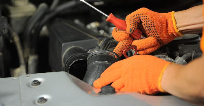 Luftfilter Mercedes W163 ML 400 CDI 4.0 (163.128) 2000 wechseln: Kostenlose Reparaturhandbücher